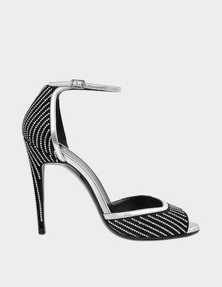 Pierre Hardy Exclusive high heel sandals with Swarovski crystals