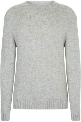 Privee Salle Knitted Alpaca Sweater