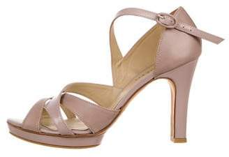 Repetto Leather Ankle Strap Sandals