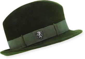 Philip Treacy Velour Town Hat