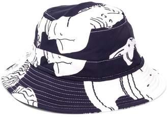 Band Of Outsiders hawaiian print bucket hat