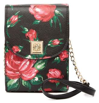 Betsey Johnson Floral Crossbody Bag