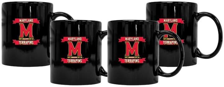 NCAA Maryland Terrapins 4-Pack Coffee Mug Set