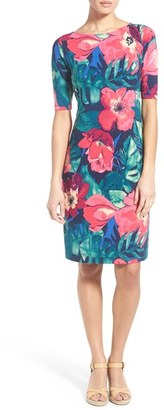 Women's Tommy Bahama 'Paradise Poppies' Sheath Dress $138 thestylecure.com