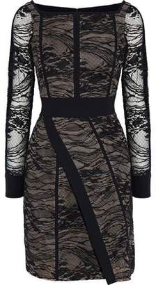 J. Mendel J.mendel Wrap-Effect Cotton-Blend Lace Dress