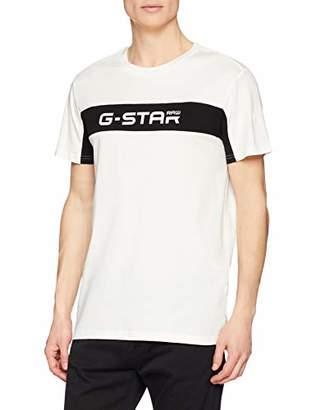 G Star Men's Graphic 80 T-shirt Blue 9647)