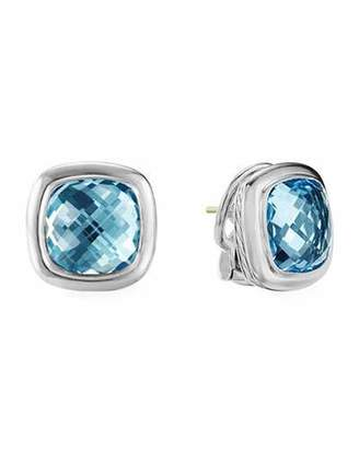 David Yurman Albion Blue Topaz Stud Earrings