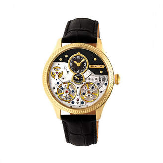 Heritor Unisex Black Strap Watch-Herhr7304