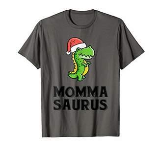 Mommasaurus Santa Shirt X-mas Family Matching Pajamas