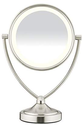 Conair Natural Daylight Double-Sided Lighted Makeup Mirror - Lighted Vanity Makeup Mirror; 1x/10x magnification;