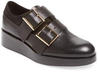 Tibi Petra Leather Oxford