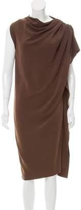 Lanvin Shift Asymmetrical Dress