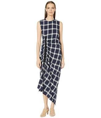 McQ Drape Drawstring Dress