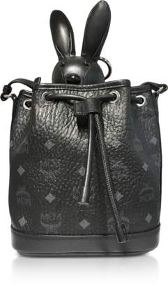 MCM Black Zoo Small Crossbody Bag