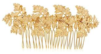 Aura Maria Gold Plated Roman Inspired Laurel Headpiece