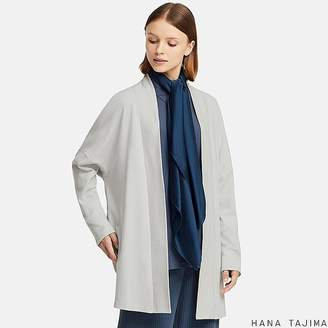 Uniqlo Women's Hpj Cotton Long-sleeve Long Cardigan