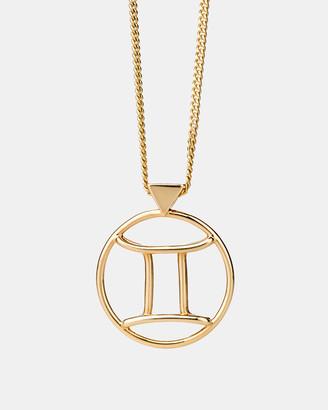 Karen Walker Gemini Zodiac Necklace