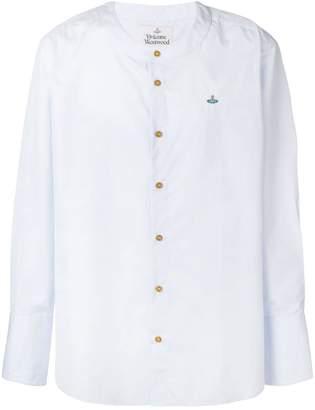 Vivienne Westwood round neck button shirt