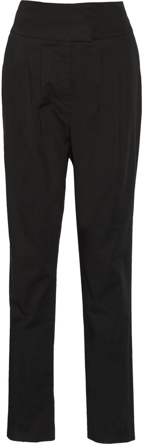RED Valentino Pleated high-waist pants