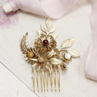 Magpie Living Ardyce Wild Flower Mini Bridal Hair Comb