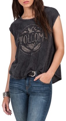 Volcom Nite Cruise Graphic Muscle Tee $32 thestylecure.com