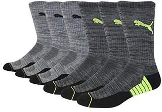 Puma Men's 6 Pack Crew Socks