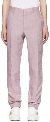 Burberry Pink Soho Trousers