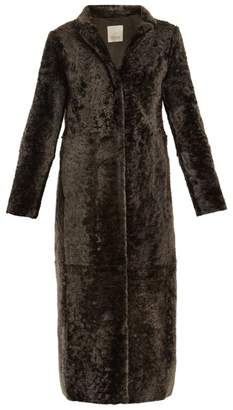 Max Mara S Tonico Coat - Womens - Dark Grey