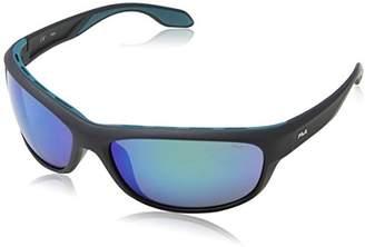 Fila Men's SF9044V Sport Sunglasses, Grey, mm