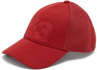 Y-3 Logo Debossed Mesh Cap - Mens - Red