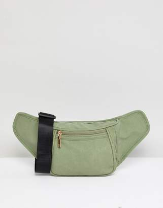 Yoki Fashion YOKI FASHION suedette Bum Bag