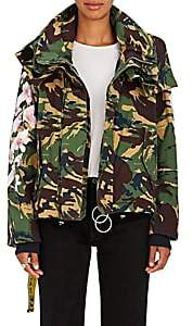 Off-White Women's M65 Floral Camouflage Field Coat - Camo