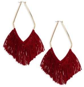 Ettika Fringe Drop Earrings