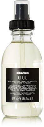 Davines - Oi Oil Absolute Beautifying Potion, 135ml - Colorless $44 thestylecure.com