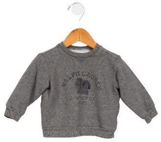 Ralph Lauren Boys' Crew Neck Graphic Print Sweatshirt