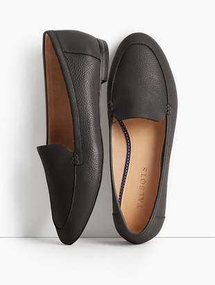 Talbots Ryan Pebbled Leather Loafers
