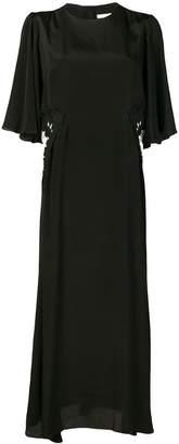 See by Chloe satin maxi dress