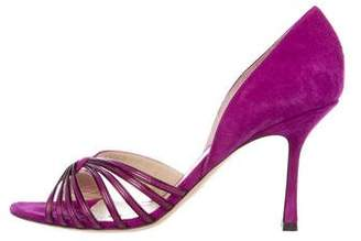 Jimmy Choo Suede d'Orsay Pumps