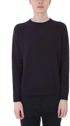 Mauro Grifoni Blue Cotton Sweatshirt