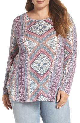 Lucky Brand Tapestry Blouse