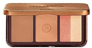 Guerlain Terracotta Contour & Glow Bronzer, Blush & Highlighter Palette