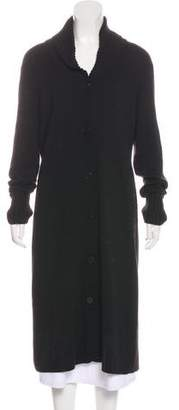 Magaschoni Merino Wool Long Cardigan