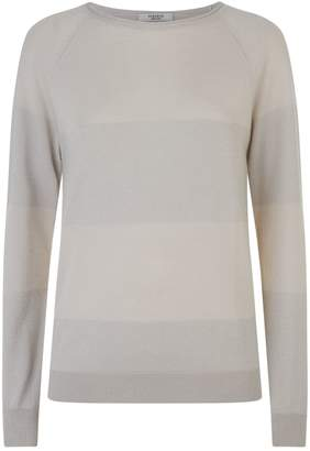 Peserico Lurex Trim Sweater