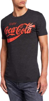Chaser Men's Coca Cola Enjoy Logo T-Shirt