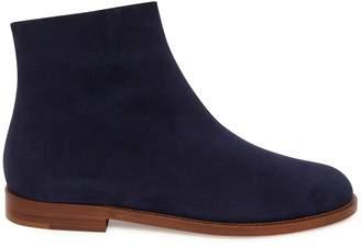 Mansur Gavriel Shearling Flat Ankle Boot