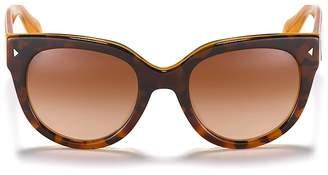 Prada Timeless Heritage Round Sunglasses, 54mm