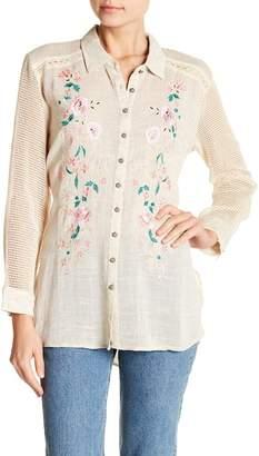 ARATTA Gold Rush Linen Shirt