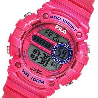 Fila (フィラ) - フィラ FILA クオーツ デジタル レディース 腕時計 38-099-005 ピンク[逆輸入品] [t-1]