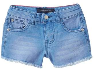 Tommy Hilfiger Short with Frayed Edge (Toddler Girls)