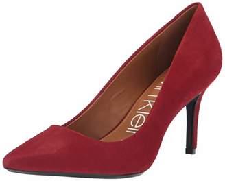 70b6f8e87b98 Calvin Klein Red Pumps - ShopStyle